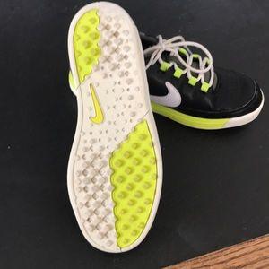 Nike Shoes - Kids Nike VT Junior Golf shoes in black/ volt.